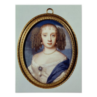Duchess of Orleans, c.1665 Poster