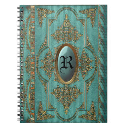 Duchess Victorian Cool Monogram Notebook