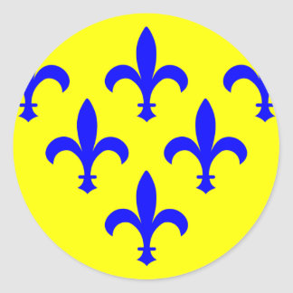 Duchy Of Parma, Italy Round Stickers