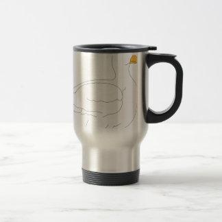 duck #3 travel mug
