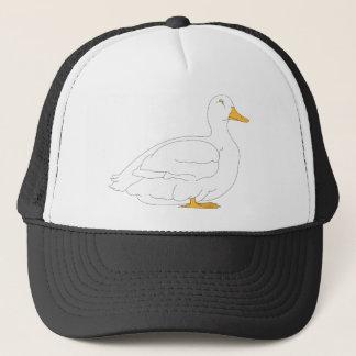 duck #3 trucker hat