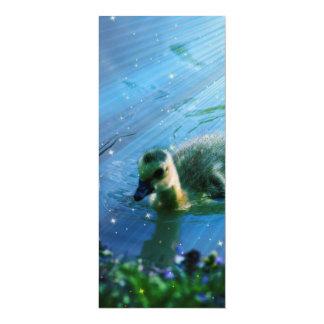 Duck 4x9.25 Paper Invitation Card