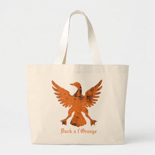 Duck a l' Orange Canvas Bag