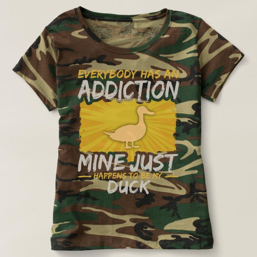 Duck Addiction Funny Farm Animal Lover T-shirt - Best Selling Long-Sleeve Street Fashion Shirt Designs