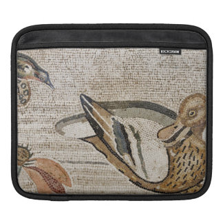 Duck and bird, Nile mosaic, House of the Faun Sleeve For iPads