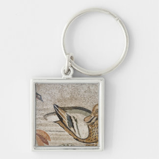 Duck and bird, Nile mosaic, House of the Faun Keychain