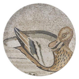 Duck and bird, Nile mosaic, House of the Faun Party Plates
