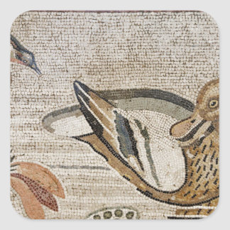 Duck and bird, Nile mosaic, House of the Faun Sticker
