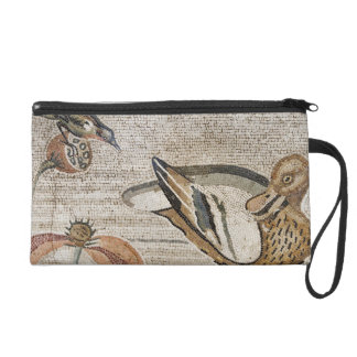 Duck and bird, Nile mosaic, House of the Faun Wristlet Clutch