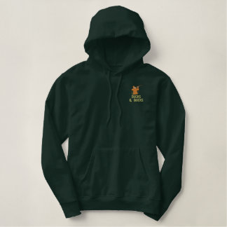 Duck and Bucks Game and Deer Hunter Embroidered Hoodie