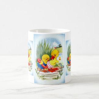 Duck and Chick Coffee Mug