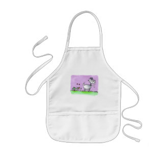 Duck and goat kids apron