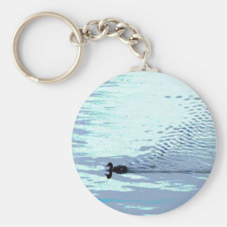 Duck and Ripples Keychain