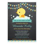 Duck Baby Shower Invitation / Rubber Duck Invite
