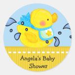 Duck Baby Shower Sticker