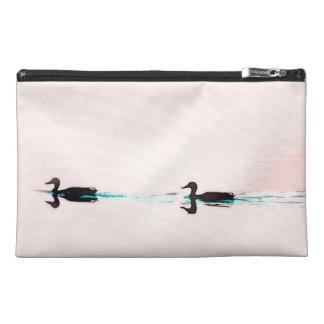 Duck Birds Wildlife Animals Sunset Bag