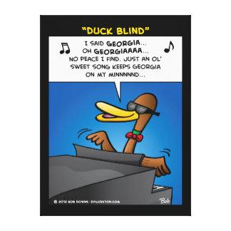 """Duck Blind"" Canvas Prints"