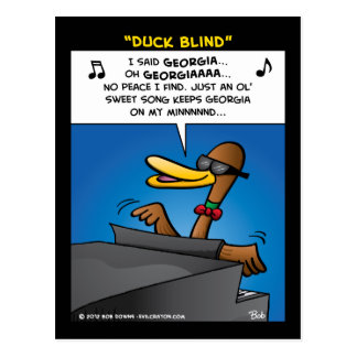 """Duck Blind"" Post Cards"