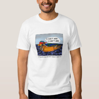 Duck Blinds Cartoon T-shirt