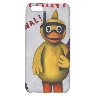 Duck Boy Paint iPhone 5C Cases