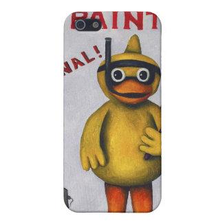 Duck Boy Paint iPhone 5 Cases