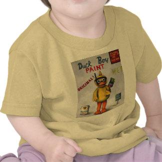 Duck Boy Paint T-shirts