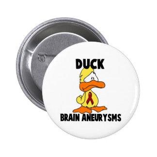 Duck Brain Aneurysms Button