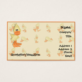 Duck Business Card