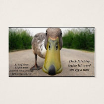 duck business cards