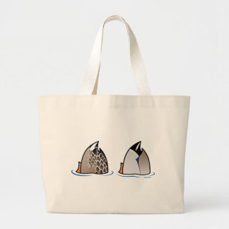 Duck Butts Tote Bags