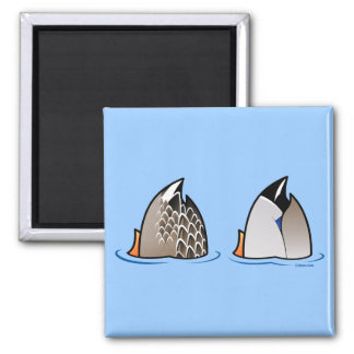 Duck Butts Fridge Magnets