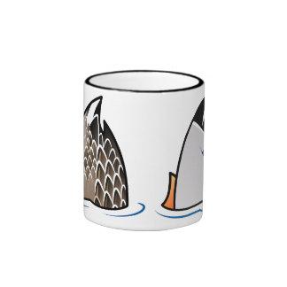 Duck Butts Ringer Mug