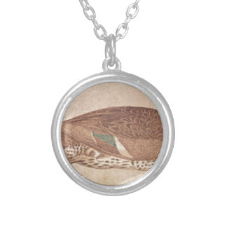 Duck by Pisanello Silver Plated Necklace