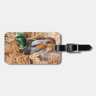 Duck Call Mallard Drake Hunting Hunter Luggage Tag