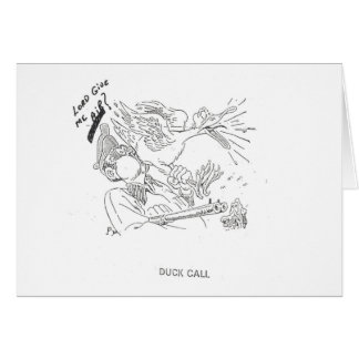 Duck Call - Note Card