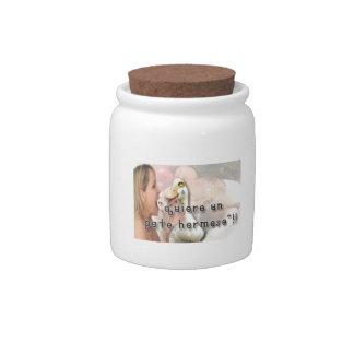 Duck Candy Jar