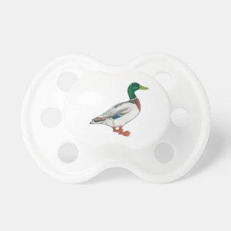 Duck Cartoon Design Pacifier