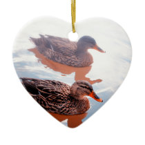 Duck Ceramic Ornament