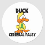 Duck Cerebral Palsy Stickers