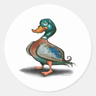 Duck Classic Round Sticker