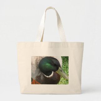 Duck Close up Tote Bags