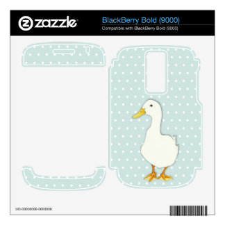 Duck Cool dots Blackberry Bold (9000) Skin BlackBerry Bold 9000 Skin