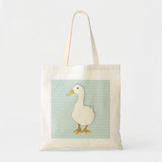 Duck Cool dots Tote Bag