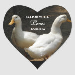 Duck Couple: Love Stickers
