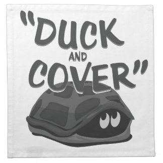 Duck & Cover Napkin