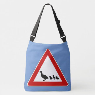 Duck crossing crossbody bag