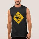 Duck Crossing Warning Sign, USA Sleeveless Shirt