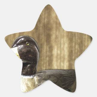 Duck Decoy Star Sticker