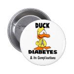 Duck Diabetes - Customized Button