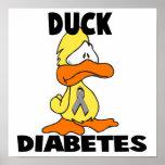Duck Diabetes Posters